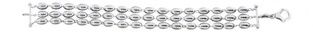 3 reihiges Silberarmband tolles Armband Silber 925 Armkette Silberkette