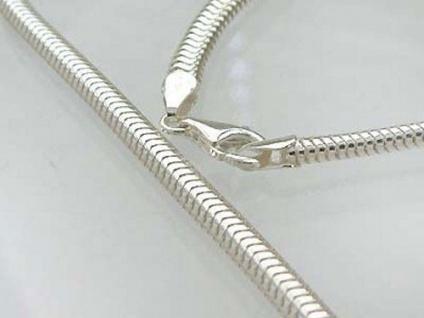 Massives Collier Halsreif Silber 925 Karabiner 27g breite Silberkette 42 cm