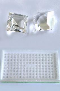 150 Stk. Spinelle weiß Carreeschliff Spinell Carree 4 x 4 mm