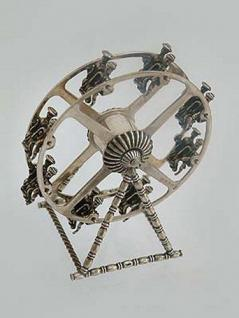 Riesenrad Silber 835 - zum Sammeln - Vitrinenobjekt - sammelwürdiges Riesenrad - Vorschau 2