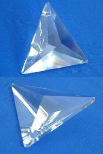 5 Stück Feng Shui Kristalle facettiert und gebohrt zum Aufhängen