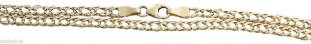 42 / 45 / 50 cm Goldkette 333 Halskette - feine Kette Gold geschliffen 8 kt