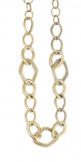 Collier Gold 585 Goldkette verlaufend Damen Halskette Kette Gelbgold 14 Karat