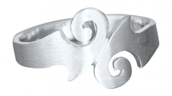 Ring Silber 925 massiv Silberring Damen echt Sterlingsilber Top Design