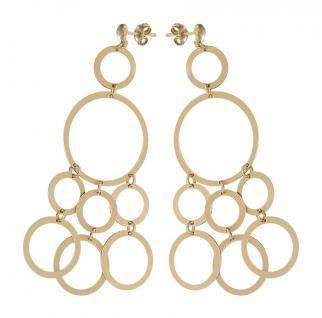 Lange Ohrhänger Silber 925 Gold Ohrringe Ohrstecker Silberohrhänger vergoldet
