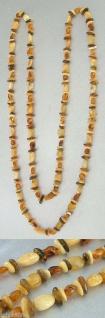 Superlange Bernsteinkette mehrfärbig 116 cm Halskette Kette Bernstein Collier