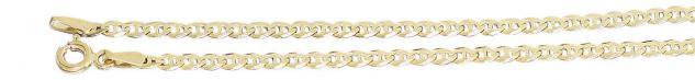 19 cm massives feines Goldarmband 585 Armband Armkette Ankermuster 14 Kt.