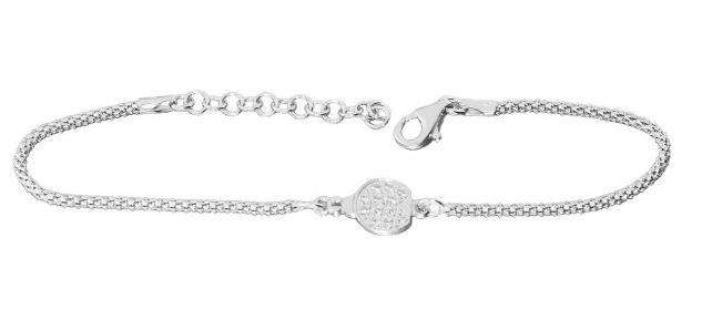 Armband Silber 925 Marienkäfer Zirkonias Himbeerkette Armkette Damen Glück