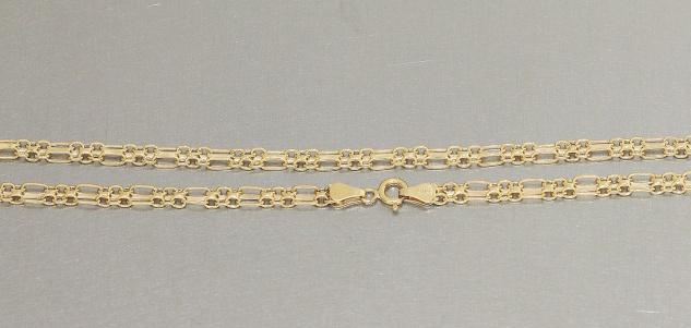 Goldkette 585 / 14 Karat Kette Halskette elegantes Collier echt Gold Damen