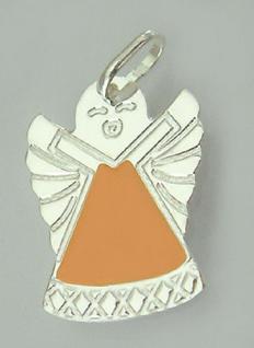 Kinder Schutzengel - Anhänger Silber 925 - süßer kleiner Engel - Silberanhänger