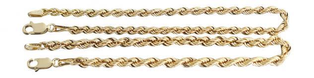 19 cm Goldarmband 333 Wallisarmband 3 mm stark funkelndes Armband Armkette Gold