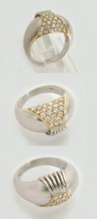 Ring in Weißgold 585 mit Brillanten 0, 50 ct. Weißgoldring Goldring 14 kt