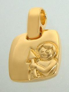Sternzeichen Schütze Goldkette und Anhänger vergoldet Panzerkette Gold Schütze