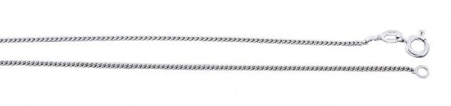 Panzerkette Silber 925 Silberkette 60 cm Karabiner Halskette massiv Collier