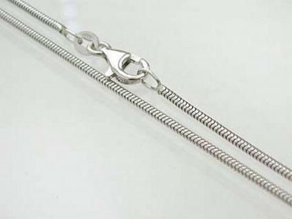 42 cm geschmeidige Schlangenkette 925 Silberkette Kette Silber massiv 1, 6 mm