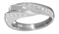 Weißgoldring 750 Brillanten 0, 30 ct. Brillantring Damenring Ring 18 Karat