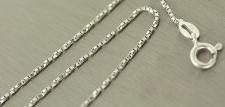 Feines funkelndes Fußkettchen Silber 925 - Fußkette - echte Silberkette gedreht