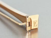 Brosche Gold 580 Jugendstil Brosche mit Fuchskopfpunze
