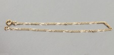 Armband in 14 kt (585/000 ) Gold, 19 cm lang, Armkette, Goldarmband