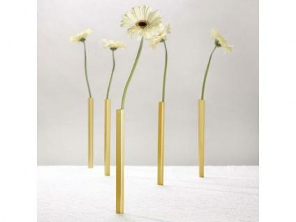Magnetische Vase gold 5-er Pack