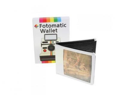 Geldbörse mit Fotofach im Sofortbild-Retrolook