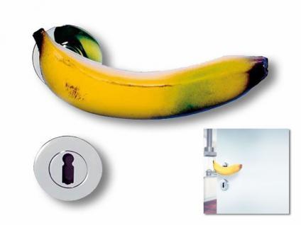 Türöffner in Form einer Banane