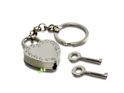 Das Schloss zu meinem Herzen - Schlüsselanhänger