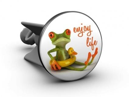 Handwaschbecken Stöpsel - Enjoy life / Genieße das Leben!