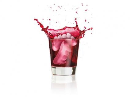 Eiswürfel - Draculazähne - schaurig - Lebensmittelsilikon - Vorschau