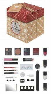 Cosmetic Cube Adventskalender für Frauen mit Kosmetikprodukten und Utensilien