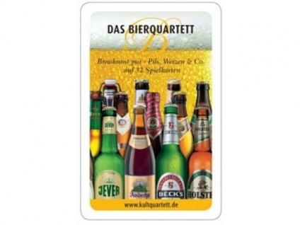 Das witzige Bier Kartenquartett Spiel