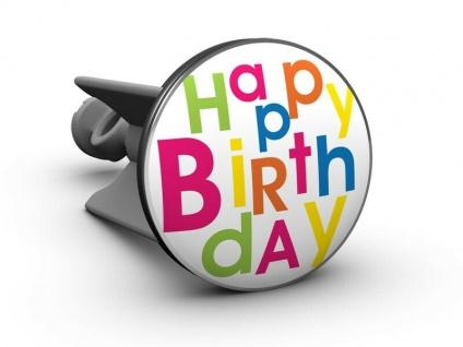 Handwaschbecken Stöpsel - Happy Birthday