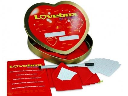 LOVE Box 52 - Liebeslose zum selbst beschriften