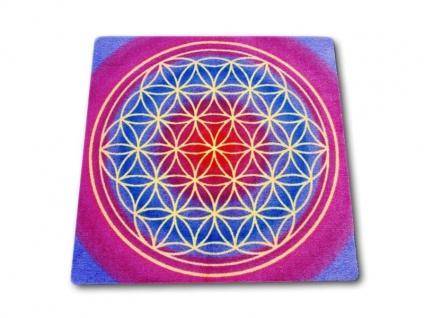 Die esoterik Fußmatte/Teppich Die Blume des Lebens