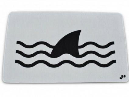 Badvorleger ACHTUNG Hai-Gefahr