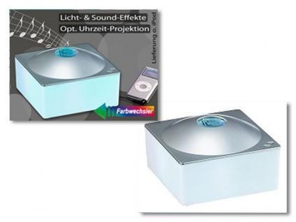 Magische Uhr mit iPod Anschluß Entspannung für Augen, Ohren und Seele