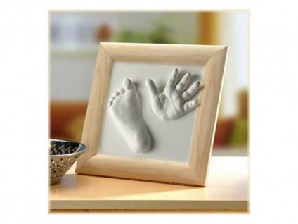 Hand und Fussabdruck Set 3D