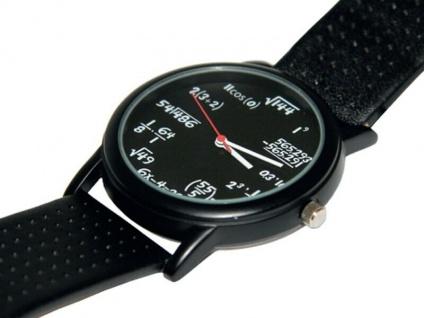 Die coole Mathe Armbanduhr für Mathe Fanatiker
