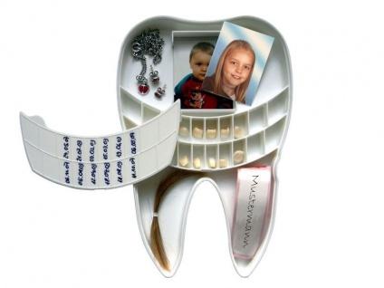 Petit Tresor - Box für Milchzähne und Baby Erinnerungen