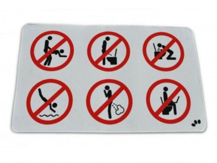 Badvorleger Verbotsschilder