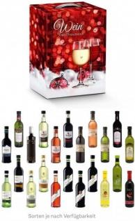 Wein Adventskalender hochkant
