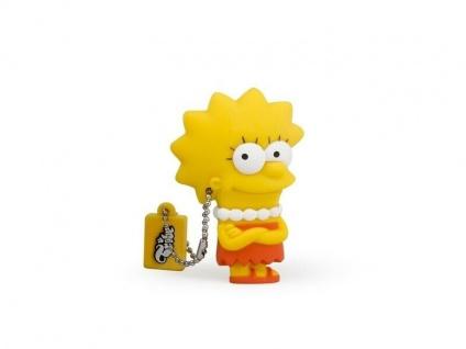 Der Lisa Simpsons USB-Stick mit 8GB und Schlüsselanhänger