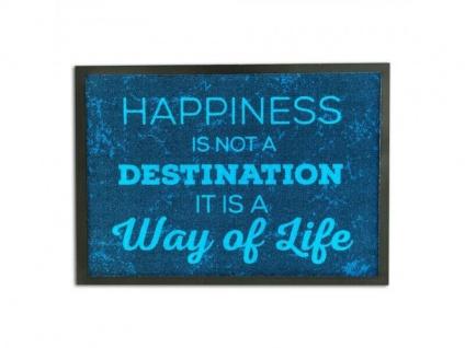 Fußmatte Happiness 50x70 cm