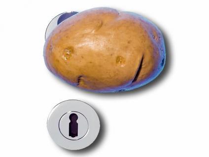 Türöffner in Form einer Kartoffel