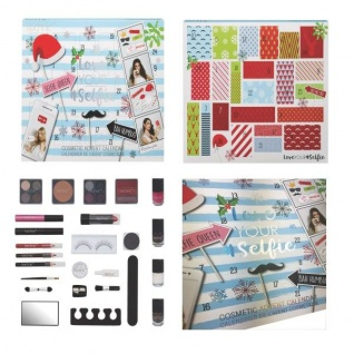 Love Your Selfie Adventskalender Frauen-Beauty-Produkte und Selfie-Accessoires