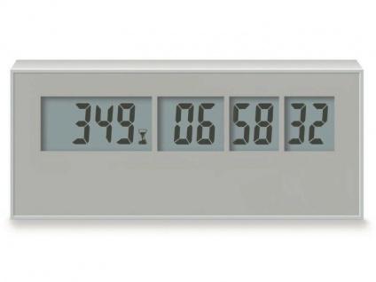 Die Countdown Uhr mit Tage, Stunden, Minuten, Sekunden - Vorschau