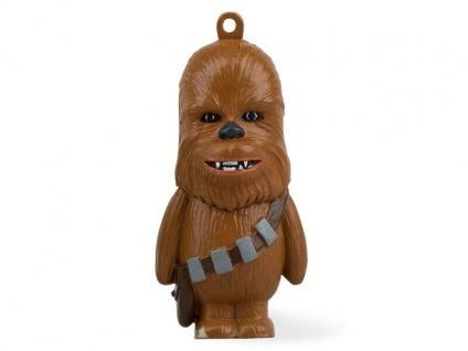 Der coole Star Wars Chewbacca als 8 GB USB-Stick mit Schlüsselanhänger