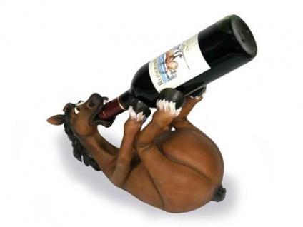 Weinflaschen Ablage - Das besoffene Pferd