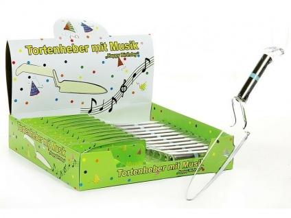 Der Happy Birthday Tortenheber mit Musik