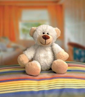 Kuscheltier Bär Lea 22cm zum Selberstopfen, mit Geburtsurkunde